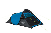 Gelert Quickpitch Compact 2 tente 1-8 places bleu/noir